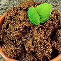 Tapenade olive noire confite