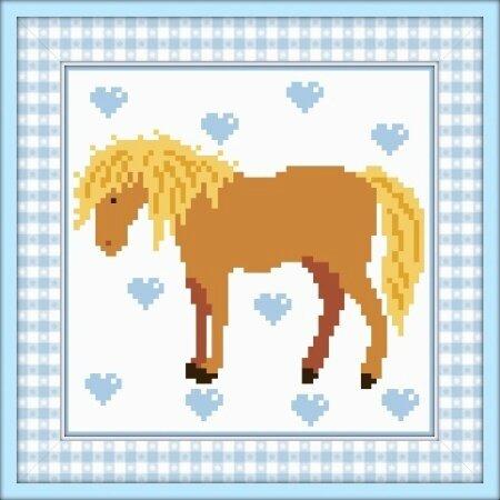 Gentil cheval cadre
