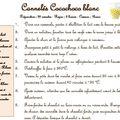 Cannelés cocochoco blanc