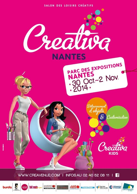 Affiche Creativa Nantes 2014