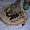 Collier de prière runique