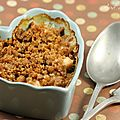 Crumble de saumon