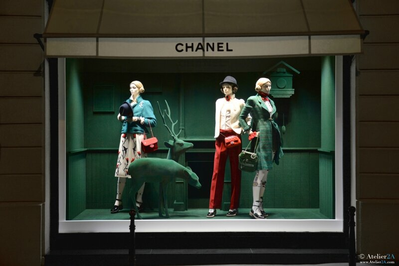 CHANEL window winter 2015 2016