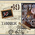 Joyeux anniversaire 'yannick'...