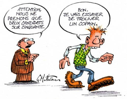 education national recrutement prof humour