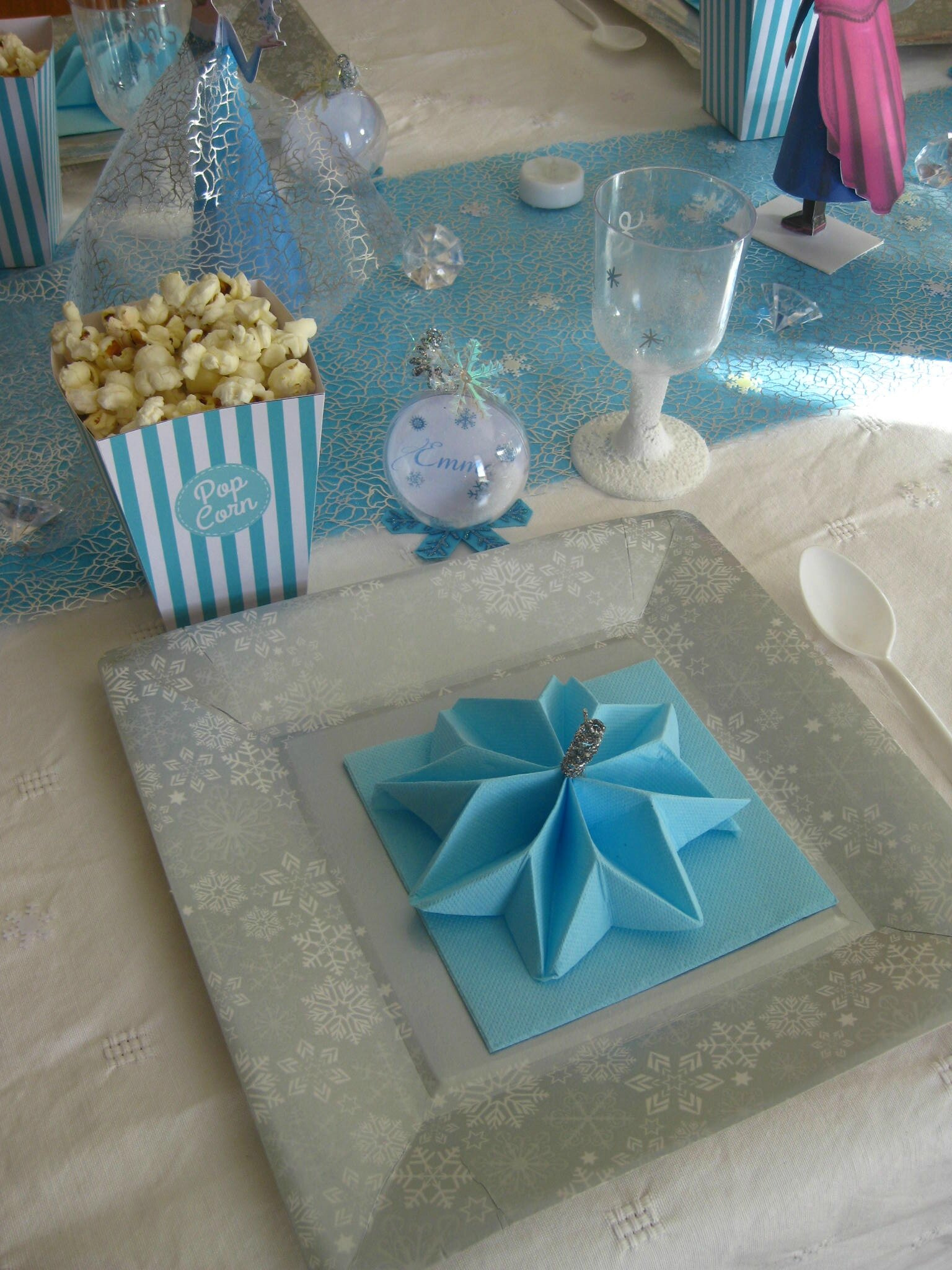 table reine des neiges