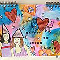 art journal je me nourri