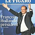 lection prsidentielle - dimanche 6 mai 2012 - Francois Hollande prsident - les rsultats nationaux et locaux du 2nd tour