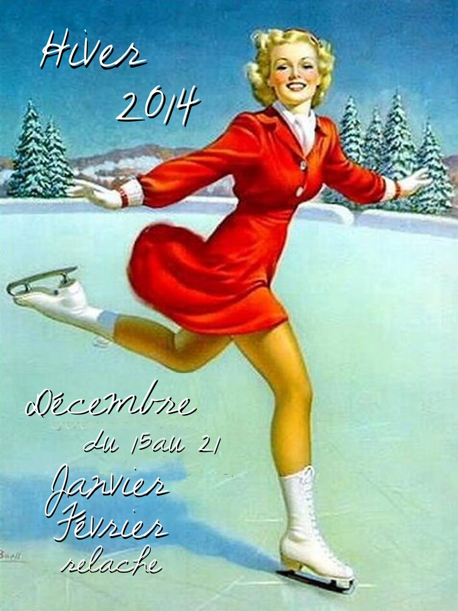 pin up hiver 2014 rel