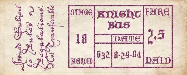 knightbusticket