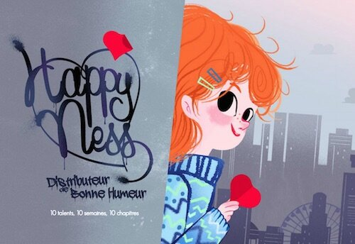 Happy Ness : un livre digital collaboratif orchestré par HP