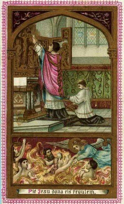 Prier pour les âmes du purgatoire avec ND de Montligeon!! 25138096