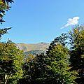 Le Layens (1625 mètres) depuis le col de Labays...