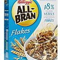 All-bran flakes - kellog's