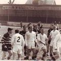 1/2 finale excellence à Limoges, en 1963, contre Givors