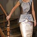 Défilé robes en soie sauvage
