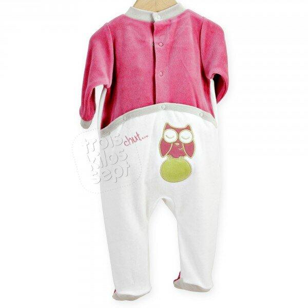 pyjama-bebe-pont-fille-marque-trois-kilos-sept-en-velours