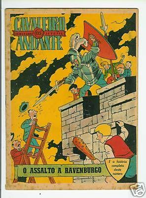 M. Tric au Portugal (journal Tintin portugais) - 1