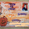 Mail art Haloween