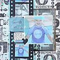 Scrapbooking a4 #197 - sketch