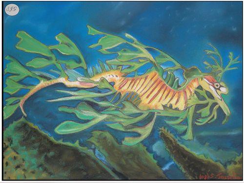 Dragon des mers feuillu