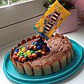 Le gravity cake ... ou le gâteau suspendu