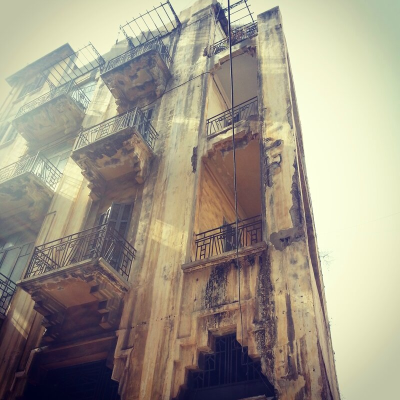 beyrouth immeuble 3