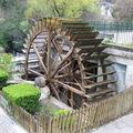 La fontaine de vaucluse, le moulin à papier