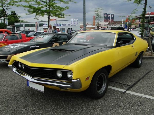ford torino gt fastback hardtop coupe 1970 a