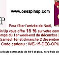 Ce week-end avec osez pin up