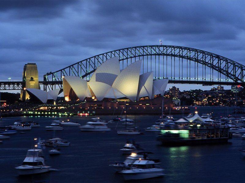 sydney australie photo de les plus belles villes du. Black Bedroom Furniture Sets. Home Design Ideas