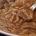 Chorba veau et carottes au cookeo