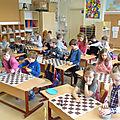 Nous commençons l'apprentissage des mathématiques à travers le jeu d'échecs