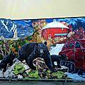 Comme promis sur facebook - peinture murale au complet