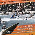 Affiche championnats de france slalom 2010
