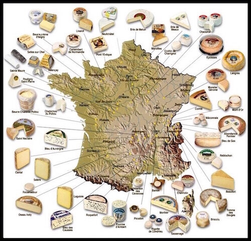 fromages france