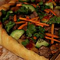 Pizza banh mi