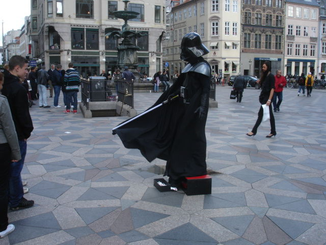 dark vador in copenhague
