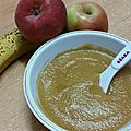Compote pomme et banane (4/6mois)