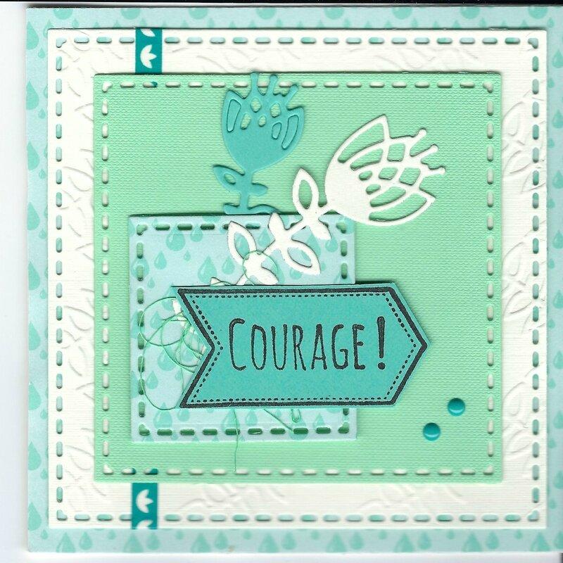 Carte courage