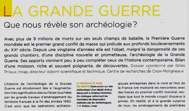 archéologie gg