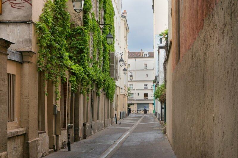Passage des Marais, vers la place Bonsergent