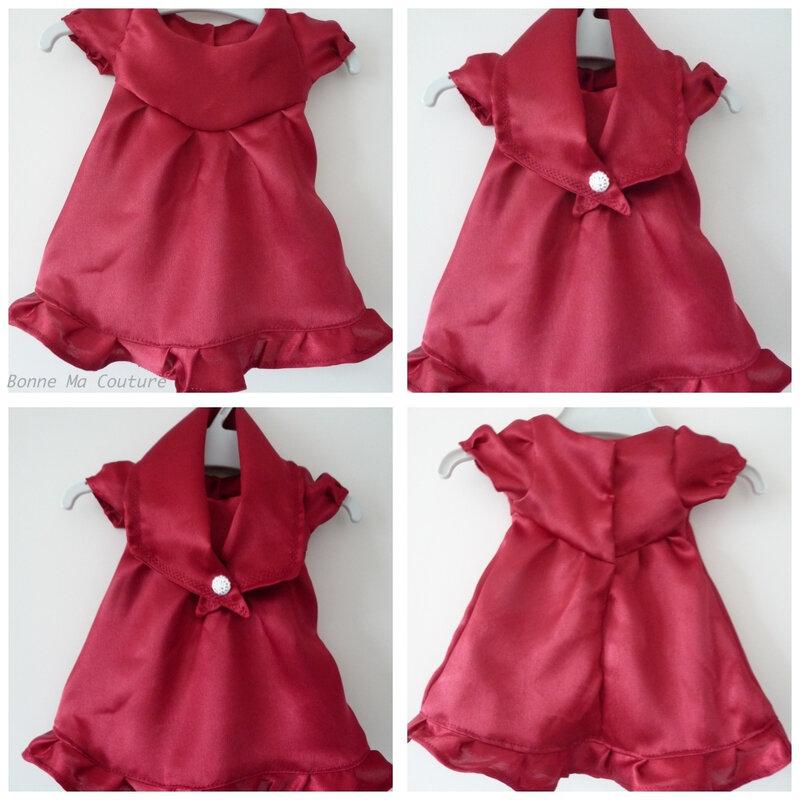 montage robe poupée princesse -