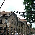 Pologne : auschwitz