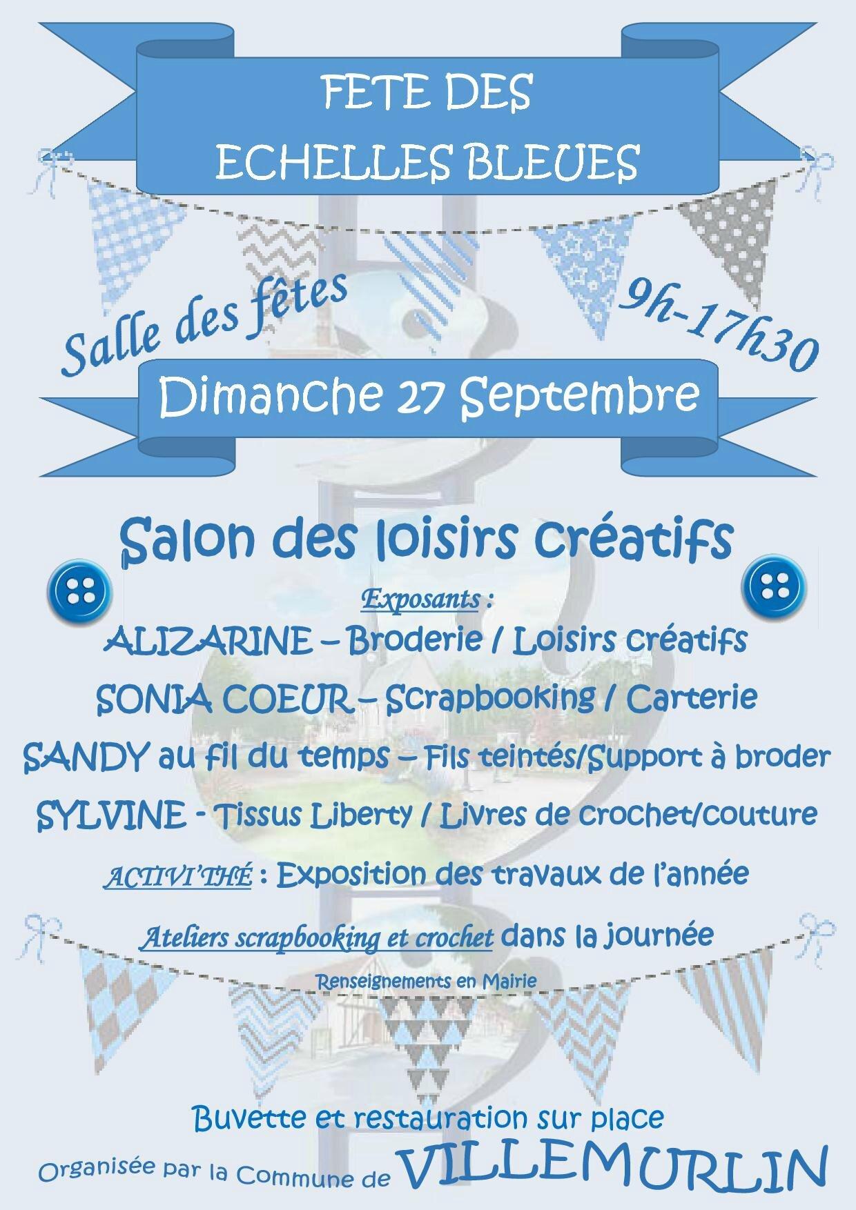 Salon des loisirs cr atifs villemurlin 45 le blog for Salon loisirs creatifs orleans