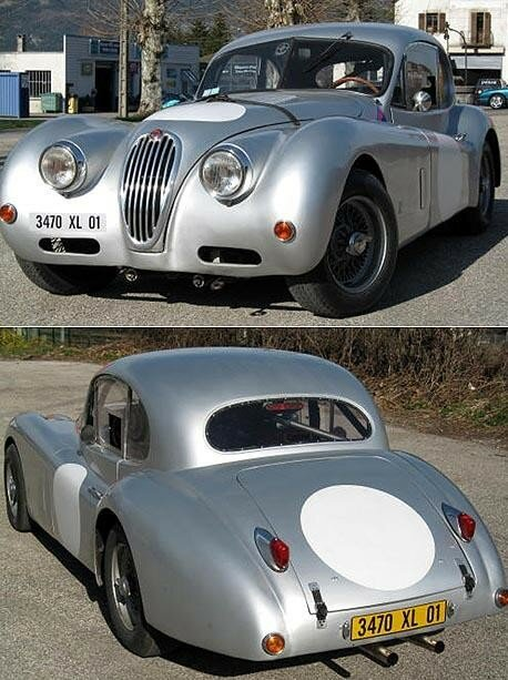 JAGUAR - XK 140 Coupé - 1956