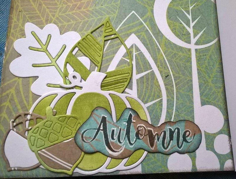 album en kit automne