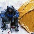Maman ourse en camping