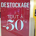Liquidation eram grand maine à angers... 50% de remise sur tout le magasin