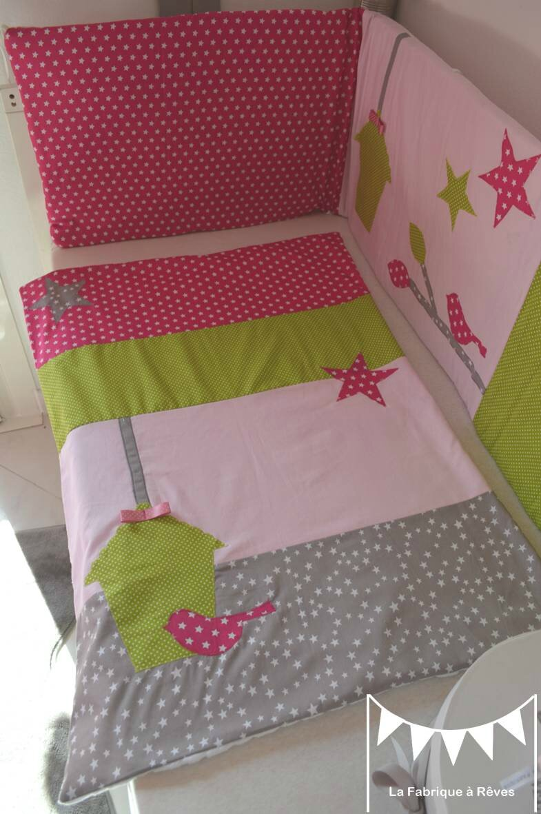 couverture b b vert pomme anis rose fuchsia rose poudr gris liberty h loise polaire minky. Black Bedroom Furniture Sets. Home Design Ideas